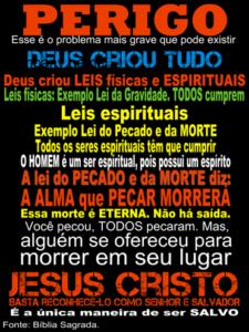 plano da salvação cartaz